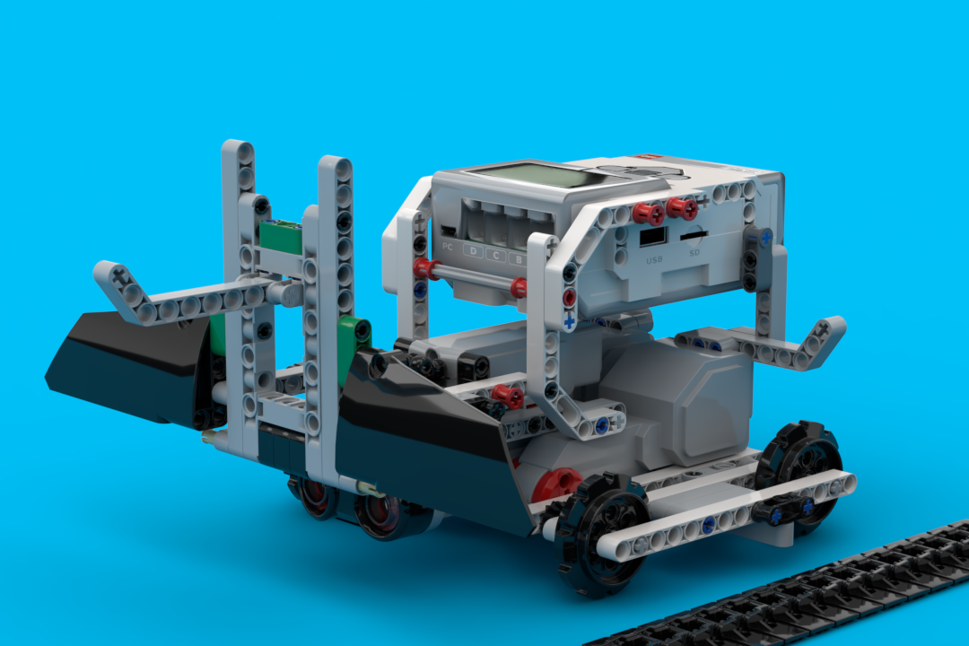 Building instructions for robots using one LEGO MINDSTORMS Education