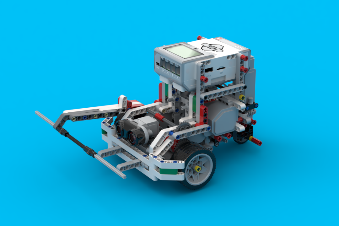 Building instructions for robots using one LEGO MINDSTORMS